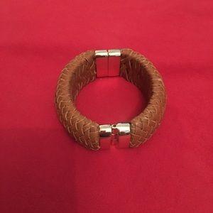 Banana Republic Leather Bangle Bracelet